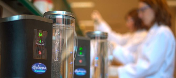 ¿Qué es el agua hidrogenada?