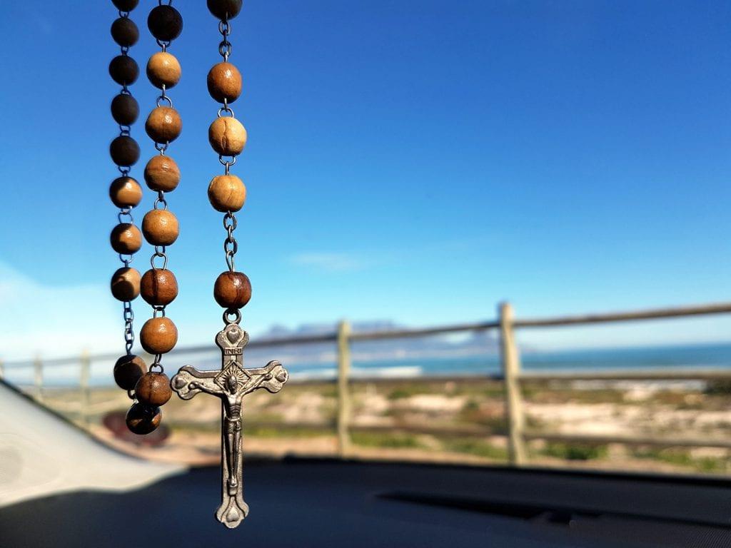 rosario de cristal
