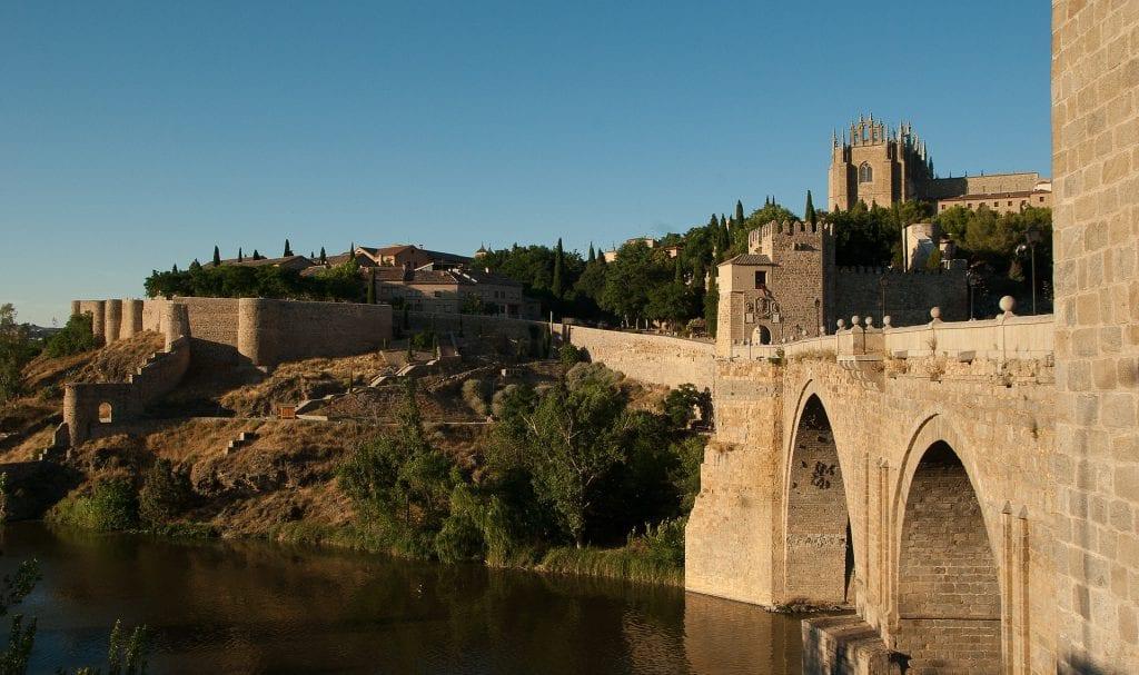 vista a la ciudad de Toledo