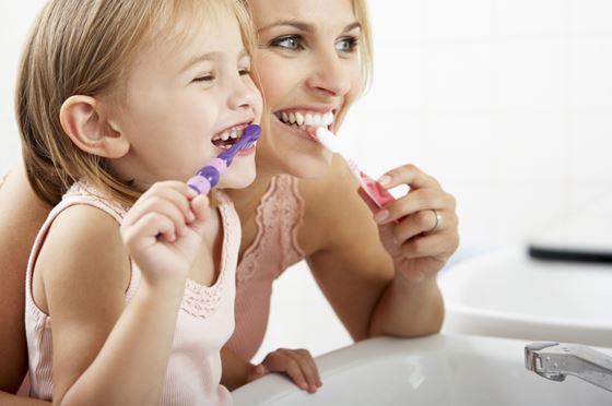 cuidado dental en niños